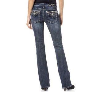 Miss Me JP4656-2 Bootcut Dark Low Jeans